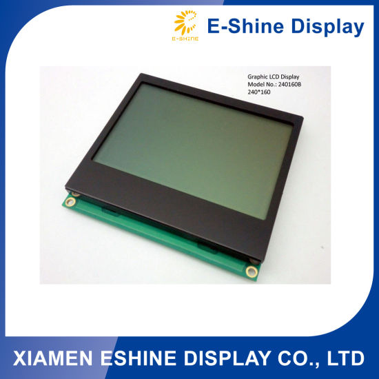 Stn 240X160 LCD Module with Green Background