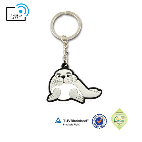 Fashion Promotional Cartoon Yummii Bear Key Ring Soft PVC Rubber Keychain pictures & photos