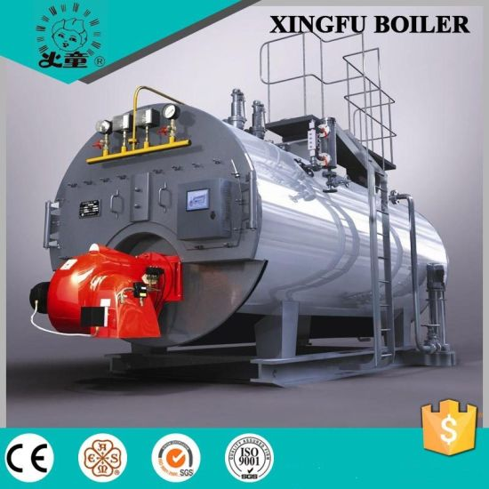 Industrial Natural Gas Diesel Oil Fired Hot Water Boiler pictures & photos