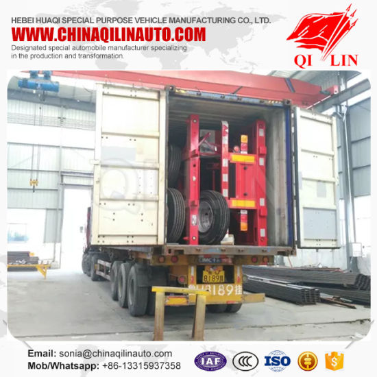 China Heavy Duty 20feet Frame Semi Trailer for Sale pictures & photos
