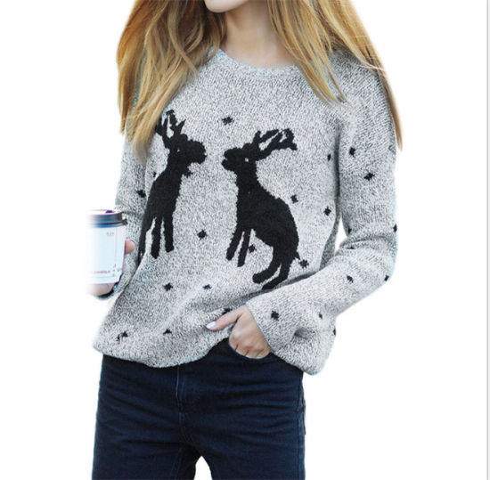 Custom Design High Quality Knit Wool Ugly Christmas Sweater pictures & photos