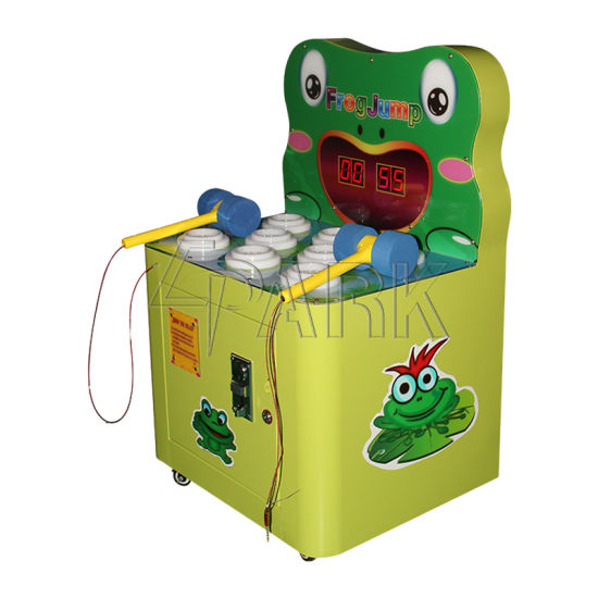 Mini Kids Hit Frog 1 Player Small Coin Operated Video Game Machine