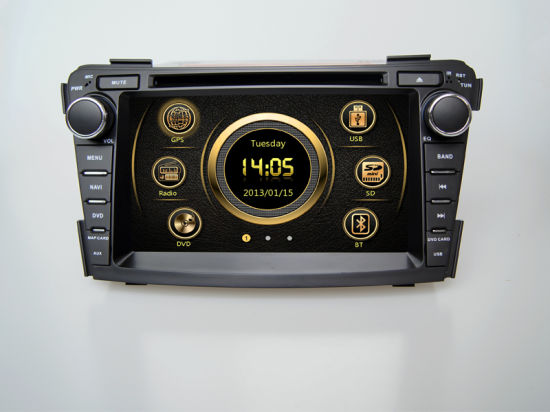 Best Car GPS Stereo DVD Player Bt Wince Hyundai I40