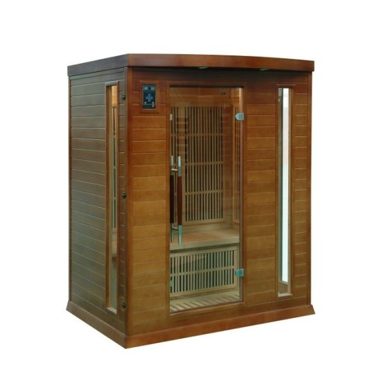 Traditional Luxury Indoor Dry Near Infrared Portable Sauna Room with Light