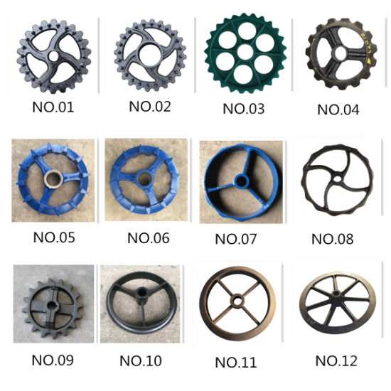 Agricultural Machinery Cast Iron Wheels