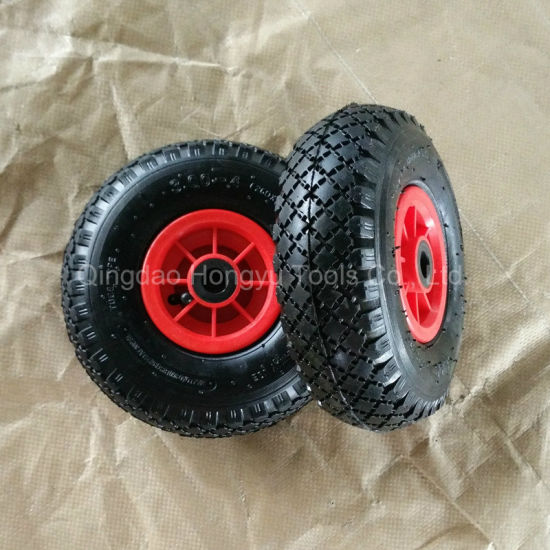 3.00-4 Pneumatic Rubber Wheel with Plastic Rim pictures & photos