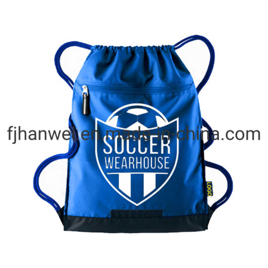 Light Weight Polyester Soccer Sport Drawstring Bag