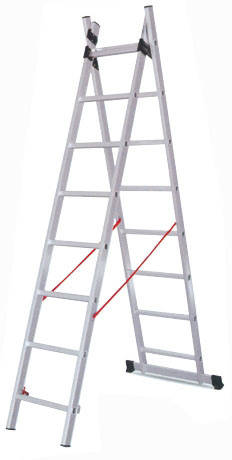 Hot Selling Aluminium Extension Ladder with En131 Certificate pictures & photos