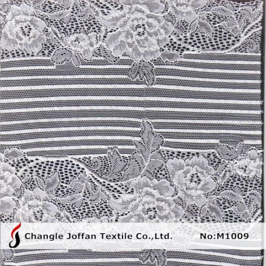 Fashion Floral Lace Fabric for Garment Accessory (M1009)