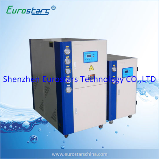 Industrial Mini Scroll Water Cooled Water Chiller for Injection Machine