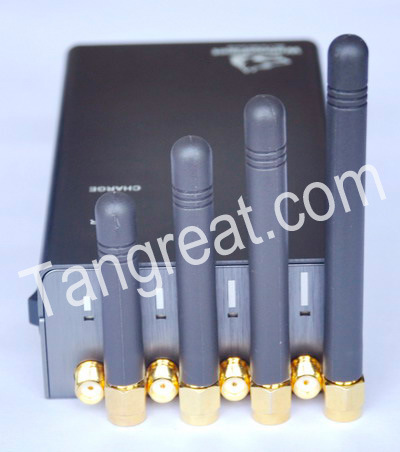 High Power Handheld Cell Phone Jammer (TG-120-PRO)