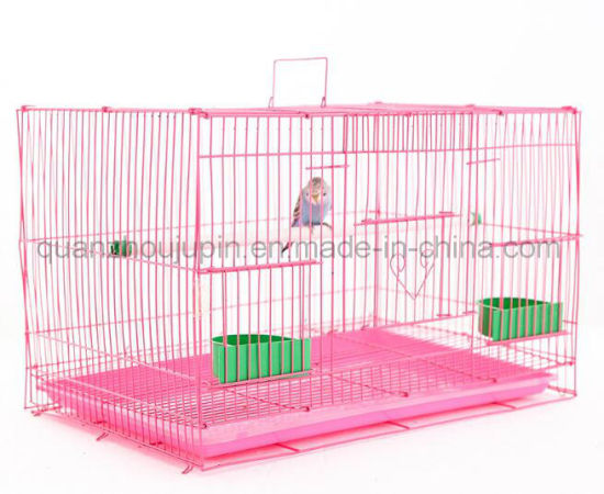 Custom High Quality Metal Handle Parrot Birdcage Bird Cage pictures & photos
