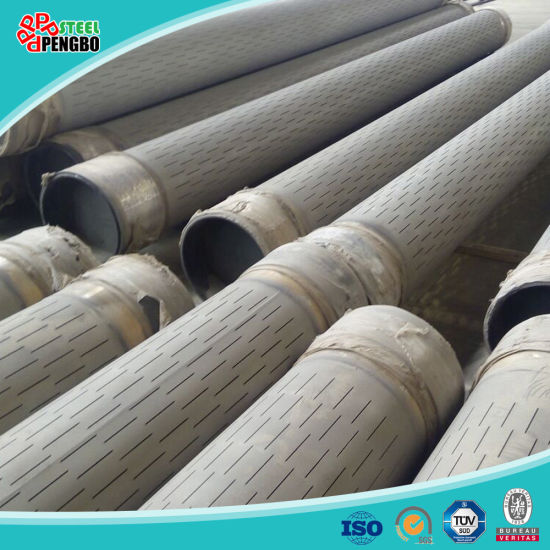 304/316 Stainless Steel Slotted Casing Pipe pictures & photos
