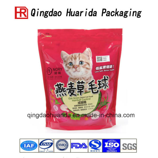 Customized Stand up Pets Food Packaging Bags pictures & photos