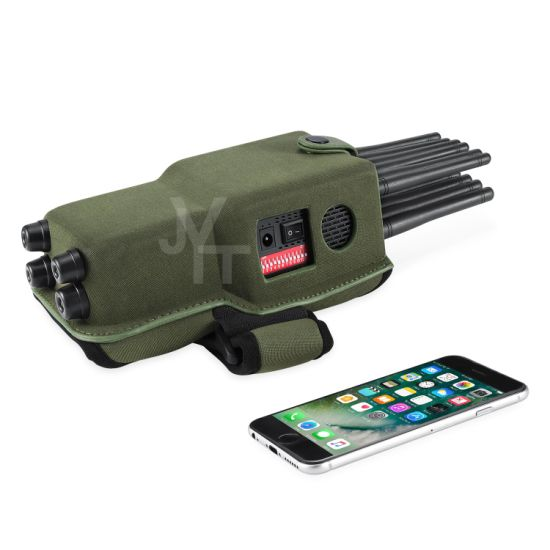 Hot Selling New Design 12 Channel All-in-One Cell Phone Signal Jammer Blocking GPS WiFi Dsm CDMA Signal Jammer