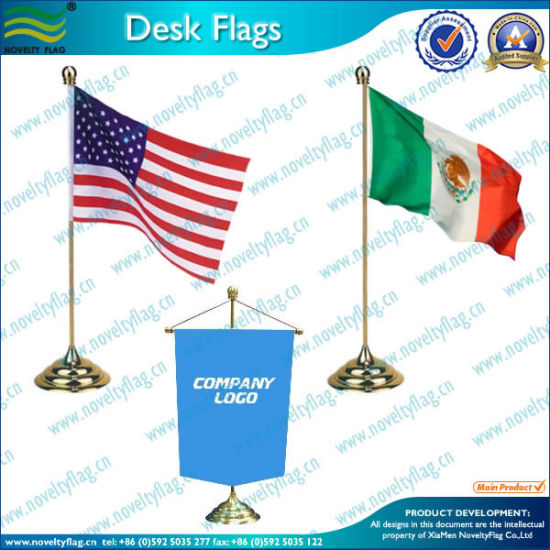 Custom Polyester Office Desk Flag (B-NF09M05005) pictures & photos
