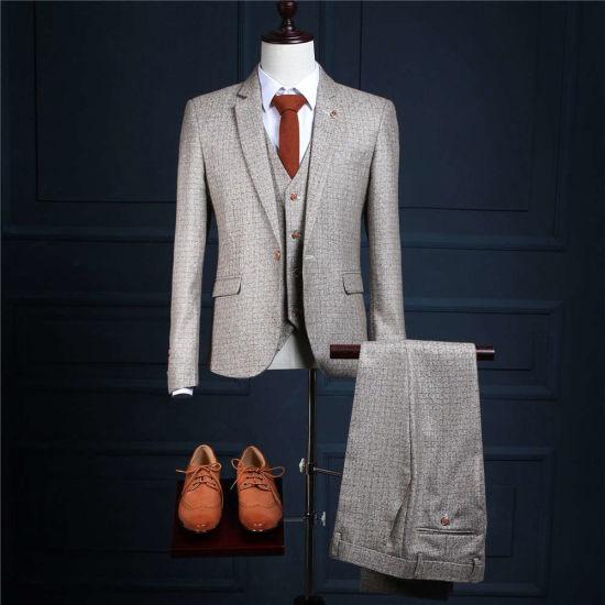 Smoking De Novio Tailcoat Jacket Gray Grid Check Suit 5XL Grey Wedding Tuxedos Custom Made to Measure Size Hot Sale 5XL 6XL Ms07