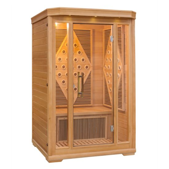 Ce Approved Infrared Sauna Room for 2 People (SJ-002L)