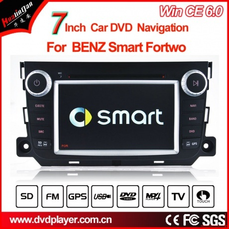 China Windows Ce Car DVD Player for Benz Smart Fortwo GPS DVD