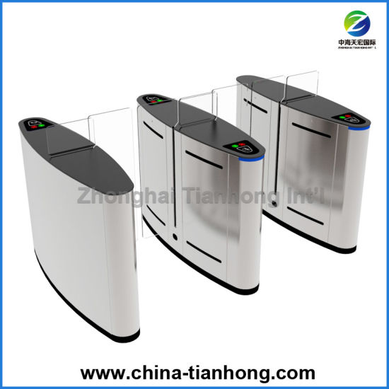 Pedestrian RFID Access Control Sliding Gate Turnstile pictures & photos