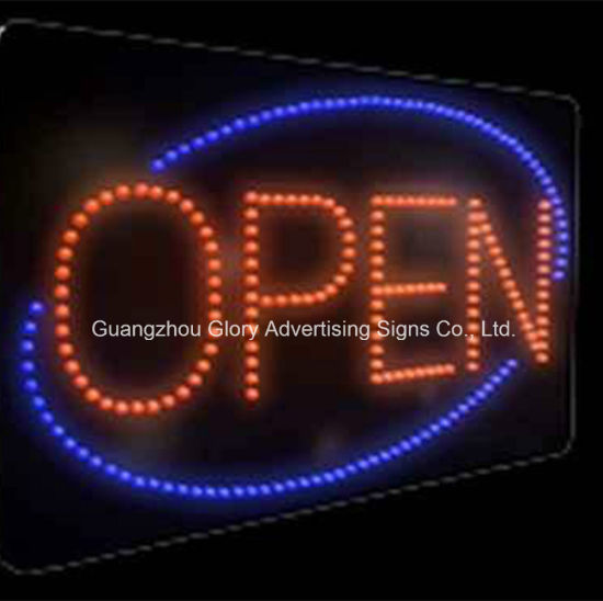 LED Flashing Sign Coffee Shop LED Open Sign pictures & photos