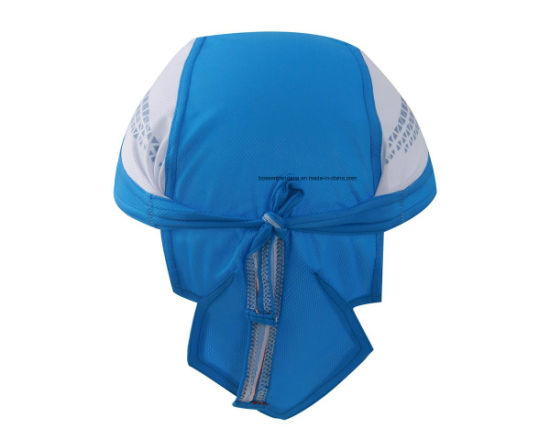 OEM Produce Customized Logo Printed Promotional Cotton Doo Rag Skull Cap Durag Bandana Head Wrap pictures & photos
