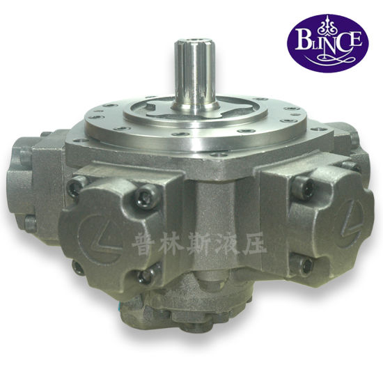 Nhm6-500 External Spline Radial Piston Hydraulic Motor for Extile Machinery pictures & photos