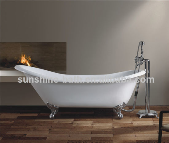 New Chinese Bathtub Bathroom