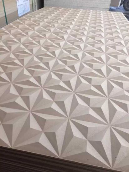 China Mdf Wave Board Designs For Wall Decoration China
