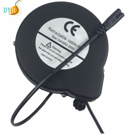 Retractable Cable Lock Extension Cord Winder