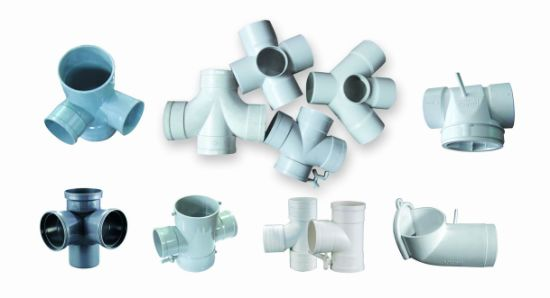 PVC 90 Degree Cross Fitting Mould for Drainage Water (JZ-P-C-03-006-C)
