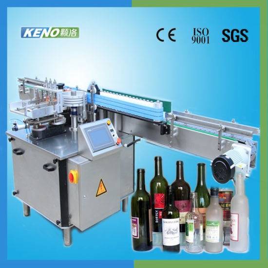 Keno L118 Auto Mineral Water Bottle Printing Label Labeling Machine