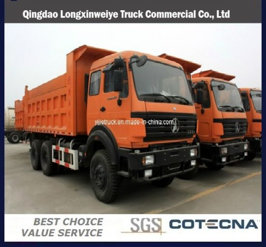 North Benz 6x4 310HP Tipper Truck with 18cbm Capacity (ND3254B34)