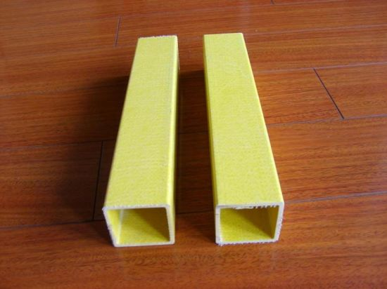 GRP Rectangular Tube, FRP Rectangular Tube, Fiberglass Rectangular Tube