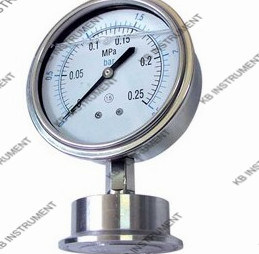 All Stainless Steel Sanitary Diaphragm Manometer pictures & photos