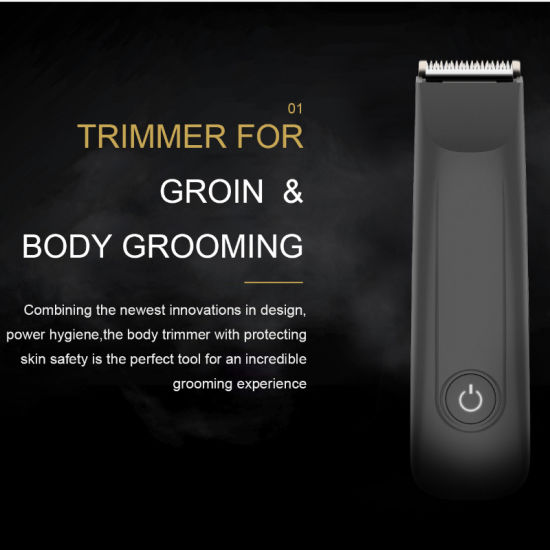 Hairscape Rechargeable Electric Groin Cordless Men Body Hair Trimmer