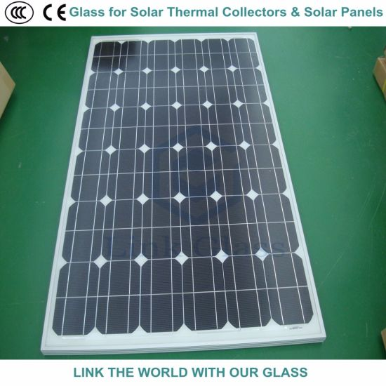 4mm Tempered Float Ar Coating Glass for Solar Collector Cover pictures & photos