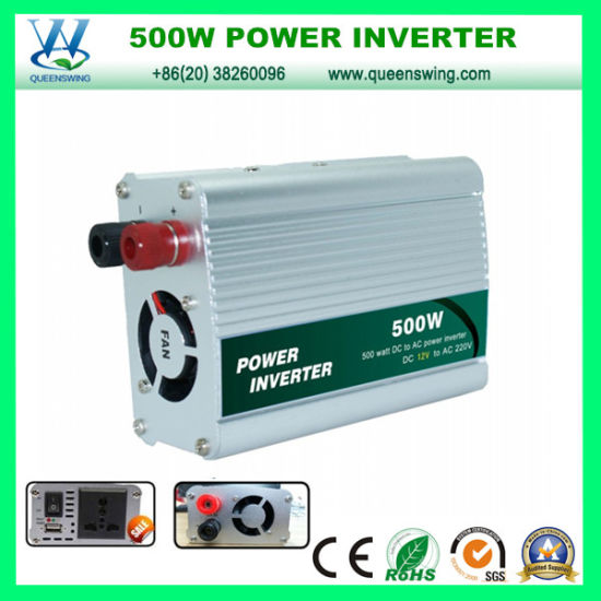 500W DC to AC Power Converter with USB Port (QW-500MUSB)