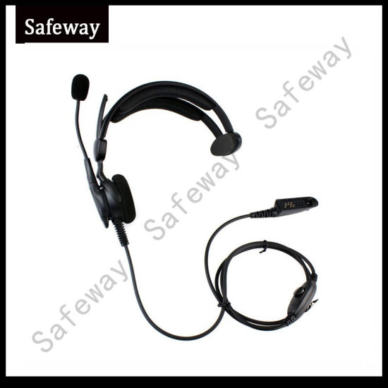 Two Way Radio Boom Mic Headset for Motorola PRO5150 pictures & photos