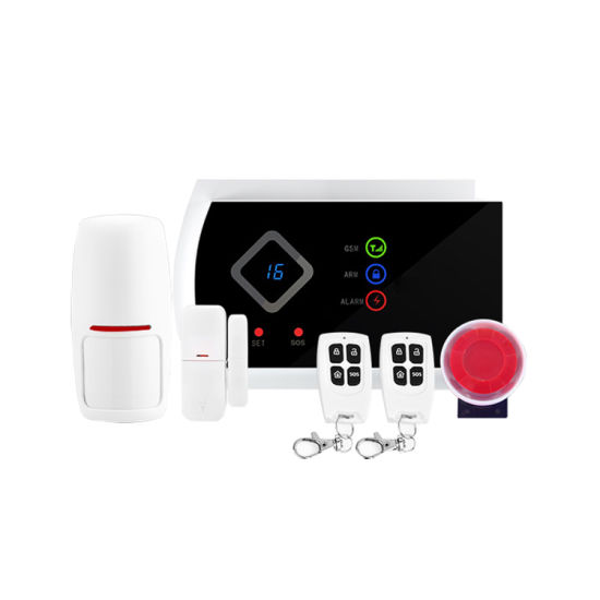 Buit-in Antenna GSM Alarm System with APP Function & 99 Wireless Zones