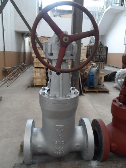 High-Performance 900lb 10'' API Wc6 Bevel Gear Automatic Control Electric High Pressure Cast Steel Gate Valve