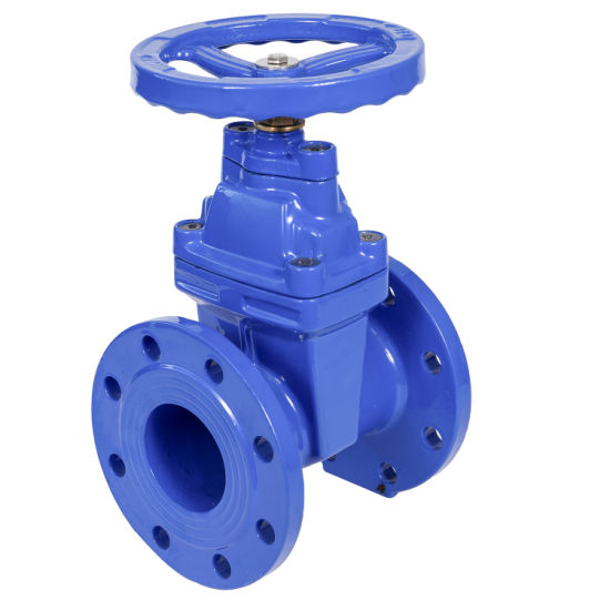 Z45X DIN3352 F4 Non-Rising Stem Resilient Seated Gate Valve