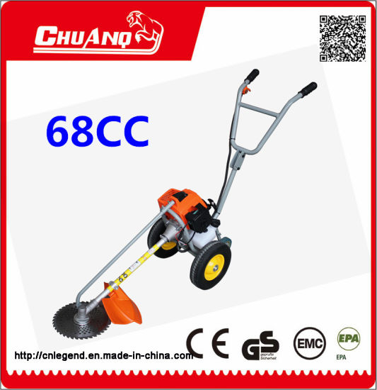 Hot Sale 2-Stroke 68cc Hand Push Lawn Mover pictures & photos
