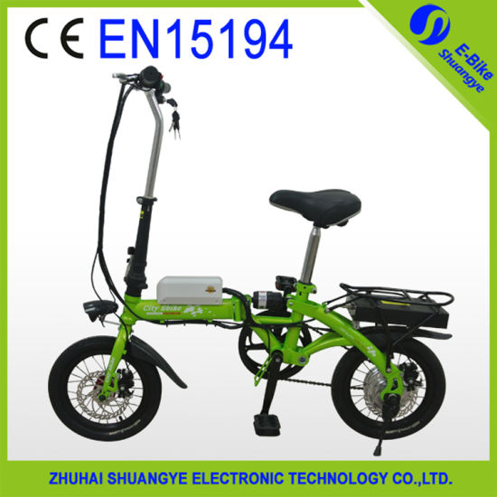 2015 Trendy Designed 36V 14 Inch Electric Bicycle pictures & photos