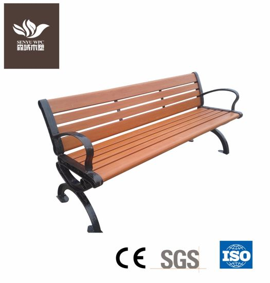 China High Quality Wpc Garden Bench China Chair Outdoor Furniture