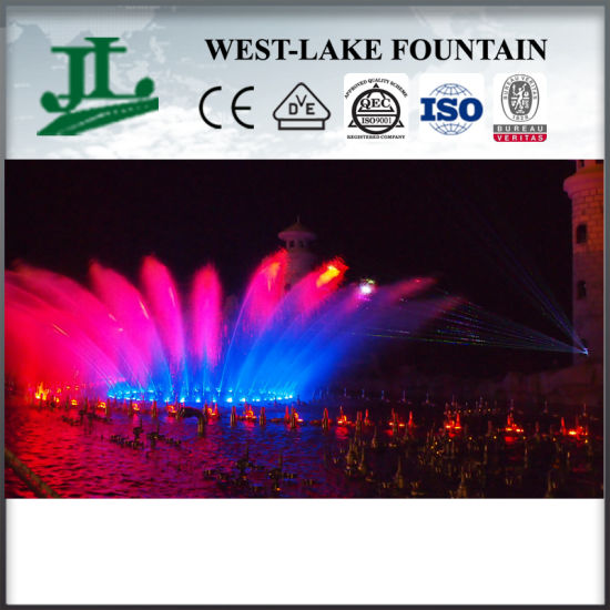 Decorative 360 Degrees Rotating Outdoor Music Fountain pictures & photos