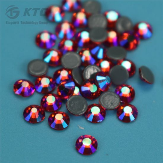 Colored Hot Fix Rhinestone for Clothing, Flatback Loose Iron on Rhinestone pictures & photos