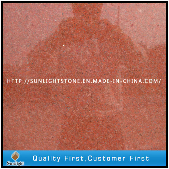 China Red Stone Granite Tiles Floor
