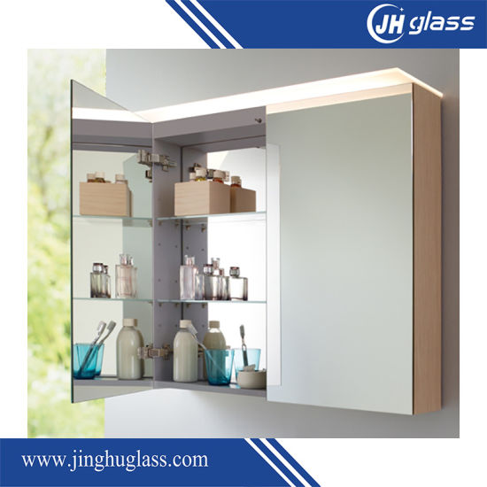 Wall Mounted Bathroom Mirror Cabinet with Infrared Switch pictures & photos