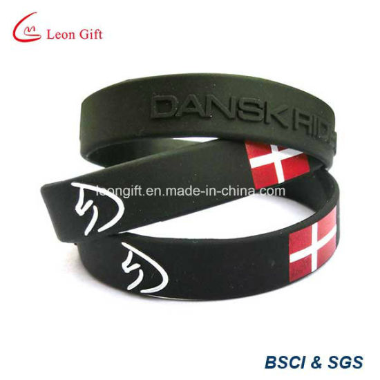 One Time Use Polyester Wristband for Promotion pictures & photos